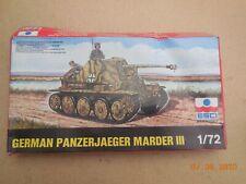 ESCI GERMAN PANZERJAEGER MARDER III 1/72 SCALE