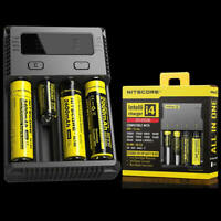 new i4 Intelligent Universal Battery Charger FOR Li-ion RCR123a 14500