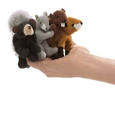 Folkmanis Woodland Animal  Finger Puppet