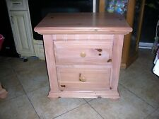 BROYHILL FONTANA TRADITIONAL BEDROOM NIGHTSTAND NATURAL PINE, PICK UP OR SHIP IT