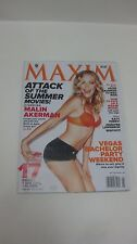 Collectible Maxim Magazine May 2012 Issue Malin Akerman Vegas Party    NEW eb987
