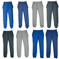 New Mens Two Design Fleece Joggers, Tracksuit Bottoms, Track Sweat Jogging Pants