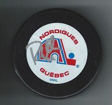 Randy Moller Signed Quebec Nordiques Puck