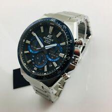 Men's Casio Edifice Solar Power Chronograph Watch EQS800CDB-1BV EQS-800CDB-1B