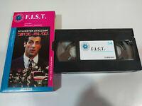 F. I. S. T. Fist Sylvester Stallone - VHS Cassetta Cartone Spagnolo Il Mondo -
