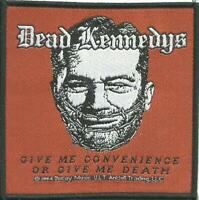 DEAD KENNEDYS convenience 2004 - WOVEN SEW ON PATCH official - no longer made
