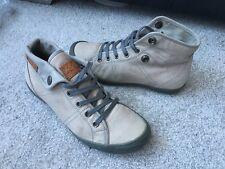 P-L-D-M By Palladium, grey Leather trainers shoes , Eur size 37