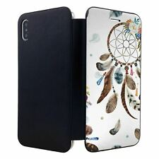 iPhone XS MAX Flip Wallet Case Cover Dream Catcher Pattern - S8249