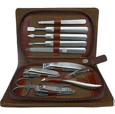 * Gift*-- KANOO  Super Face & Nail Beauty Stainless Steel Manicure Set (10 in1)