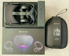 Oculus Quest 64GB VR Headset (Black) w/ Official Hard Case CiB Complete in Box