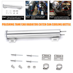 Car Coolant Expansion Tank Overflow Polishing Radiator Catch Can Cooling Bottle