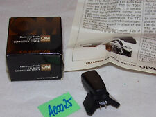 OLYMPUS OM System ELECTRONIC FLASH TTL AUTO CONNECTER TYPE 4 (A00025)