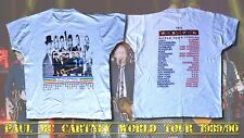 T-SHIRT CONCERT PAUL MAC CARTNEY WORLD TOUR 1989/1990