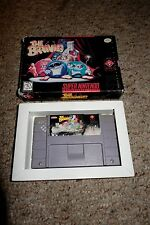 Brainies (Super Nintendo SNES, 1994) with Box FAIR
