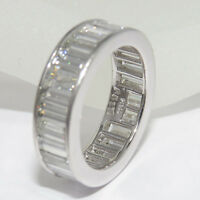 Memoire Memoirering 5,113ct Baguette Diamant TW-vsi PT 950 Platin UVP: 37.100,-€