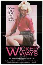 Her Wicked Ways Poster 01 Metal Sign A4 12x8 Aluminium