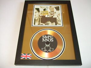 SIMPLE MINDS   SIGNED  GOLD CD  DISC  5