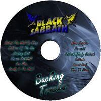 BLACK SABBATH GUITAR BACKING TRACKS CD BEST OF GREATEST HITS MUSIC PLAY ALONG