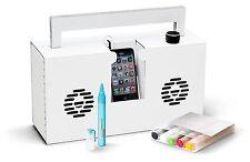 Axel Pfaender Cardboard Berlin 6 Montana Markers Boombox Mobile Mp3 Speaker Nib