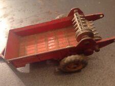 Vintage Dinky Toys Massey Harris Manure Spreader # 321