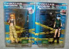 Evangelion Figure Collection Special Mission #1 Complete 2 fig set Usa Seller