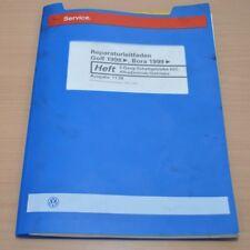 VW Golf 4 IV Bora 5 Gang Schaltgetriebe 02C Allrad Werkstatthandbuch Leitfaden