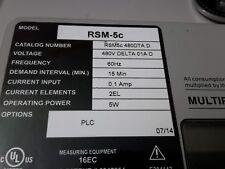 Quad Logic Rsm5C-480Dta D-480 Volt Delta 01A D