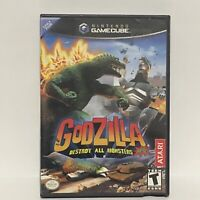 Godzilla Destroy All Monsters Melee Nintendo GameCube Video Game COMPLETE CIB