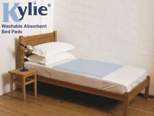 Kylie Bed Pads – 50cm X 74cm With Wings – 1l Absorbency – Blue