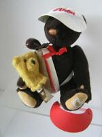 The Jack Wilson Yes-No Golfer Bear Peggy Nisbet Dolls Teddy Bear 1989 LE 350 UK