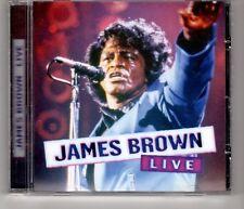 (HH725) James Brown, Live - CD