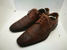 Brown leather shoes size 9
