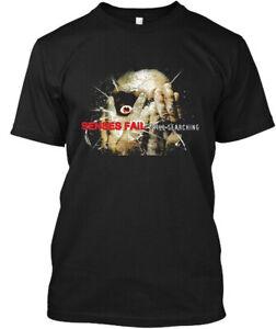 Limited NWT! Senses Fail Still Searching American Hardcore Band T-Shirt S-3XL