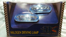 UNIVERSAL FOG DRIVING LIGHTS 1 3/4 X 3 3/4 JEEP GMC FORD CHEVY DODGE CADILLAC