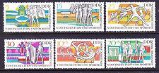 Germany DDR 1119-22 & B152-53 MNH OG 1969 5th Gymnastic and Sports Festival Set