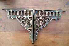 Pair Of Cast Iron Shelf/Cistern Brackets. Victorian Style.