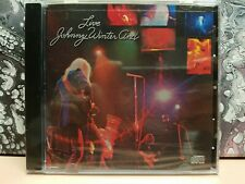 JOHNNY WINTER - LIVE CD! COLUMBIA CK 30475! NEW & SEALED!