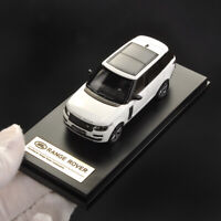 LCD MODEL 1:64 SCALE LAND ROVER RANGE ROVER 2017 WHITE CAR DIECAST COLLECTIBLE