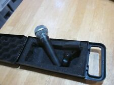 Shure SM58 Microphone with  Carry case and Shure clip