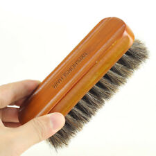 Home Soft Cleaning Tool Shoe Brush Boot Polish Horse Hair Natural Leather