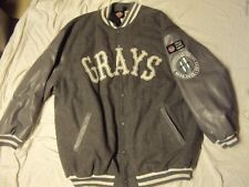 NLBM Homestead Grays Jacket Headgear Size 4XL + Sized Grays Cap 8 1/8 Both NWOT!