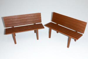 PIKO 62285 Set 5 Benches Scale G 1: 22,5