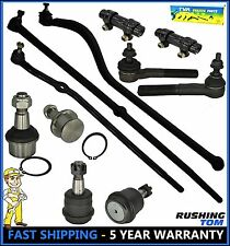 00-02 Dodge Ram 2500 3500 4WD 11 Pc Suspension Set Tie Rod End Ball Joint