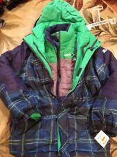 New Zeroxposur size large 14-16 winter ski snow 3 -1 heavy jacket coat boy/girl