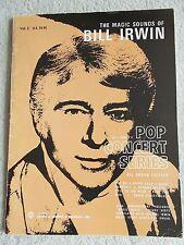 Bill Irwin Pop Concert Series Vol 2 Organ Pop Songs Unmarked