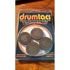 Drums sets Drumtacs 4p superior tone control dampener for drums cowbells cymbals