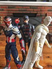 Marvel Legends Disney+ Lot Falcon Vision US Agent Zemo Captain America Loki