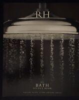RESTORATION HARDWARE 2014 BATH SOURCE BOOK 158 PAGES CATALOG DESIGNER HOME