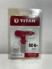 Titan Sc 6 619 Reversible Paint Sprayer Tip 662 619