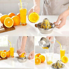 Orange Hand Press Pro Manual Citrus Fruit Stainless Steel Manual Juicer